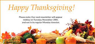wbais monday newsletter november 20 2017