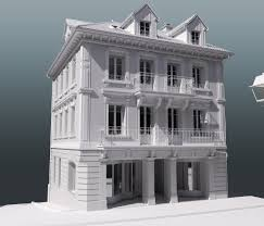 neo classical architecture modeling