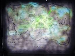 the land of oz map curtain set design ideas pinterest wicked