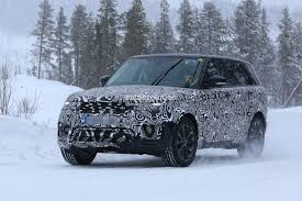2018 Range Rover Sport Facelift Plug In Hybrid Spied Trying To