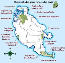 san juan map trails overview san juan island trails