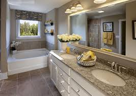 Master Bathroom Decorating Ideas Pictures Gray Mosaic Marble Wall Bath Panels Master Bathroom Design Ideas