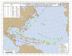 Fla Map 2007 Atlantic Hurricane Season