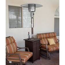 Heating Outdoor Spaces - az patio heaters commercial glass tube propane patio heater finish