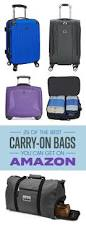 25 carry on bags you can get on amazon that people actually swear by