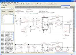 wiring diagram wiring schematic software freeware screen shot