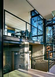 mezzanine wall creative storage wall incorporates stairwell to new