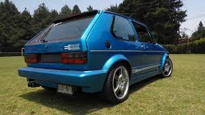 volkswagen caribe electric blue volkswagen caribe plus 1987 con toques clásicos