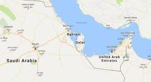 arab countries map 5 arab countries sever diplomatic ties with qatar middle east