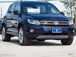 volkswagen tiguan 2016 blue 2014 night blue metallic volkswagen tiguan r line 87822426 photo