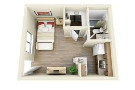 studio type apartment 50 studio type single room house lay out and interior design