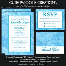 Sweet 16 Invitations Cards Cutie Patootie Creations Bat Mitzvah Invitation Bar Mitzvah