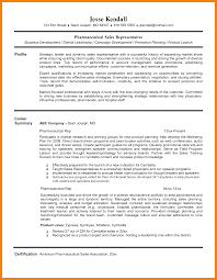 Business To Business Sales Resume Sample Sample Pharmaceutical Sales Resume Cbshow Co