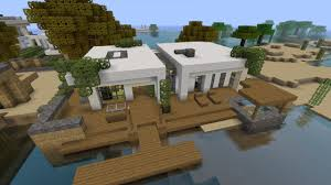 Simplemodern Simple Modern House Tutorial 1 Beach Town Project Minecraft Project