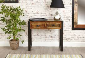 reclaimed wood wall table console table side table reclaimed wood wall side table kraft