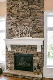 Stone Fireplaces Pictures | dry stacked stone fireplace design by dennis pinterest dry