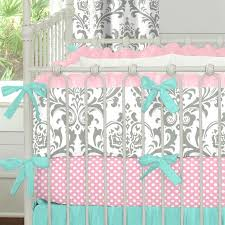 Pink And Brown Damask Crib Bedding 53 Best Damask Inspired Images On Pinterest Carousel Designs