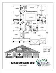 Dual Master Bedroom Floor Plans Latitudes 29 Dual Master Bedroom With Cabana Bath Vanwal Homes