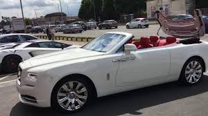 rolls royce white inside taking delivery of a rolls royce dawn lord aleem youtube