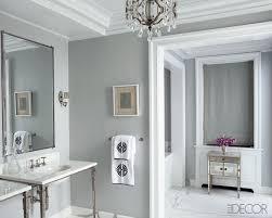 gray interior gray bathroom transitional bathroom elle decor