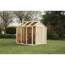 shop storage shed expansion kits at lowes com