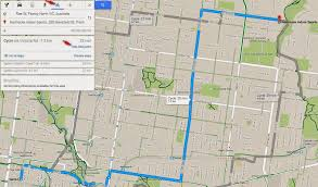 Map A Route Google by How To Find A Safe Convenient Route To A Regular Destination