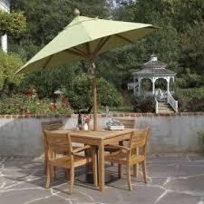 teak umbrellas wood patio umbrellas discover country casual