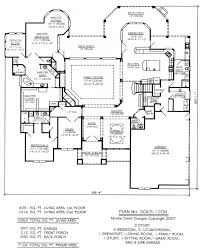 5 bedroom house plan plan no 2656 0807 5 bedroom 4 bath ranch house plans 2656 08