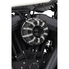 arlen ness inverted series 10 gauge black air cleaner kit 160