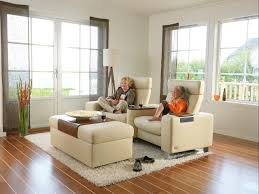 ergonomic recliner family room contemporary with adjustable