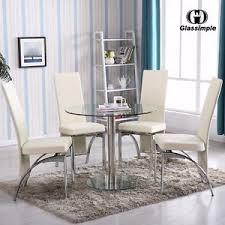 White Round Kitchen Table Set Round Kitchen Table Set Ebay