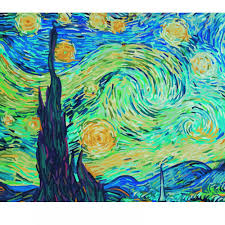 giant paint by numbers the starry night schipper from