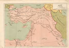 Map Of Ottoman Empire Afternoon Map Trains And Telegrams