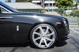 roll royce celebrity first rolls royce dawn gets forgiato wheels autoevolution