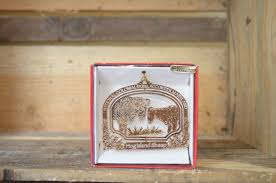 hog island sheep brass ornament accokeek foundation