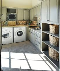 Laundry Room Storage Cabinets Ideas by Laundry Room Utility Room Storage Cabinets Counter Space