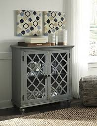 accent cabinet with glass doors mirimyn multi door accent cabinet t505 642 accent cabinets