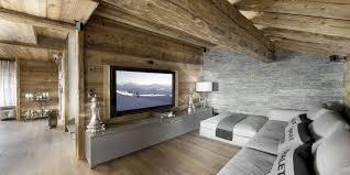 elegant hi tech ski chalet in courchevel
