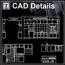 kitchen design free cad blocks u0026 drawings download center