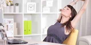 Neck Exercises At Desk 9 Office Stretches You Can Do At Your Desk The Beachbody Blog