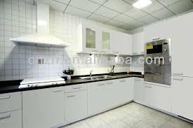 Beautiful Mdf White Demet PaintKitchen Cabinet Model Made In - Kitchen cabinets made in china