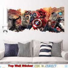 mural 3d superheroes reviews online shopping mural 3d