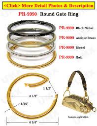 black binder rings images Super large steel metal key holders loose leaf binder rings jpg