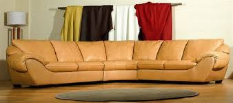 Curved Sectional Sofa High End Curved Sectional Sofa In Leather Modern Sectional Curved