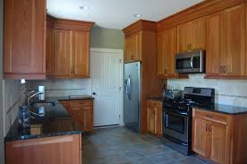 Natural Cherry Shaker Kitchen Cabinets Natural Cherry Cabinets Pictures Inspirations U2013 Home Furniture Ideas