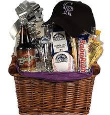 colorado gift baskets colorado rockies baseball gift basket rockies fan gift gift