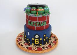 tmnt cake mutant turtles cakecraft