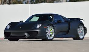 Porsche 911 Spyder - only carbon exposed porsche 918 spyder weissach in the u s now
