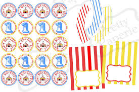recent client circus theme party printables at home with natalie