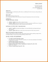 college grad resume examples college student resume example